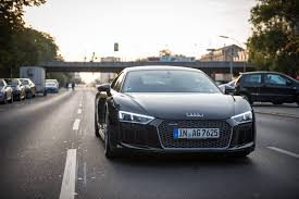 Audi R8 Blacked Out - a weekend in berlin with the 2016 audi r8 v10 plus gtspirit