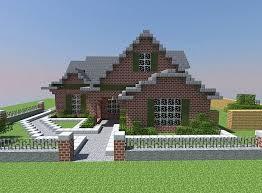 modern brick house small modern brick house minecraft project