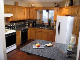 Granite Tile Backsplash by Granite Countertop Cleaning Sticky Kitchen Cabinets Green Subway
