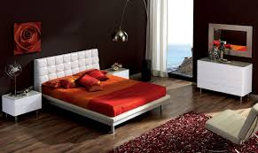 Dark Wood Bed Tags  Light Brown Bedroom Ideas Light Wood Bedroom - Modern white leather bedroom set