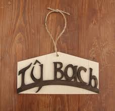 In House Meaning by Ty Bach Sign In Welsh Meaning Little House And