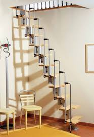 interior space saver stairs into loft projection tv