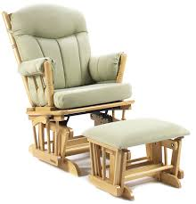 Rocking Chair Seat Replacement Furniture Cherry Glider And Ottoman Shermag Glider Replacement