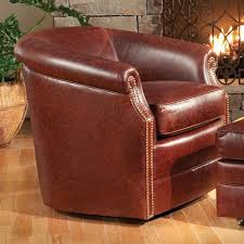 Barrel Accent Chair Smith Brothers Accent Chairs And Ottomans Sb Barrel Swivel Chair