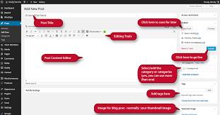 Tutorial Wordpress Blog | create a wordpress blog post kickify website graphic design