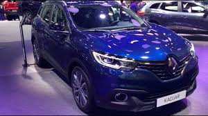 renault kadjar automatic interior renault kadjar 2017 in detail review walkaround interior exterior