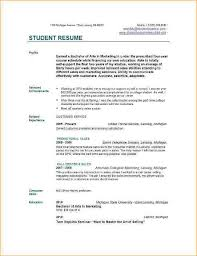 Proposal Resume Template A Resume Sample For College Student Business Proposal Templated