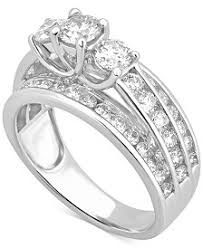 white gold engagement rings cheap womens engagement and wedding rings macy s