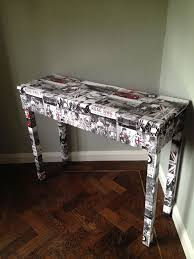 Upcycled Console Table 20 Best Christina Valentine Papered Valentine Furniture Images On