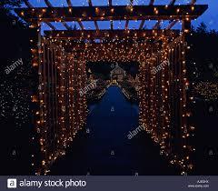 Botanical Gardens Christmas Lights by Southern Oregon Coast Shore Acres State Park Botanical Gardens