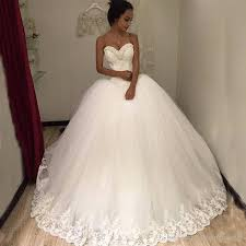 sweetheart neckline wedding dress 2017 tulle gown wedding dresses beaded sweetheart