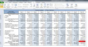 Pro Forma Income Statement Excel Template by Multifamily Pro Forma Spreadsheet Thebridgesummit Co