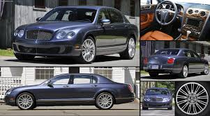 bentley continental flying spur bentley continental flying spur speed 2009 pictures
