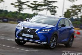 blue lexus nx lexus nx first drive impression lowyat net cars