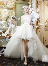 high low wedding dress with sleeves 150 best colour images on empire strapless organza