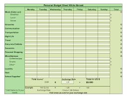 10 best images of bi weekly personal budget worksheet free bi