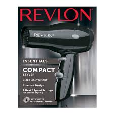 Compact Design Revlon 1875w Compact Travel Hair Dryer Walmart Com