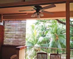 outdoor bamboo blinds gallery balconyblinds