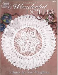 wonderful doilies crochet pattern doily crochet rug thread