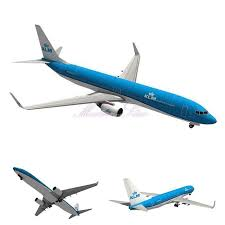 3d paper model airplanes print outs boeing b737 900 passenger plane 3d hand made diy model building
