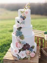 wedding cake flower best 25 wedding cakes with flowers ideas on