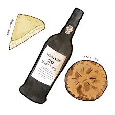 cartoon wine and cheese styles of port and their pairings wine folly