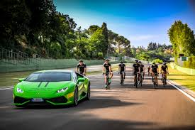 lamborghini headquarters the young drivers of lamborghini squadra corse on track at imola