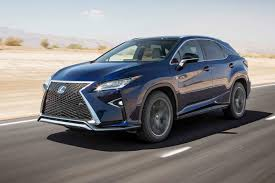lexus rx400h breaking lexus rx 2017 motor trend suv of the year contender motor trend