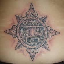 original mayan tattoo mayan lower back tattoo on tattoochief com