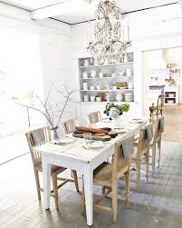 Best Cozy Cottage Dining Images On Pinterest Dining - All white dining room