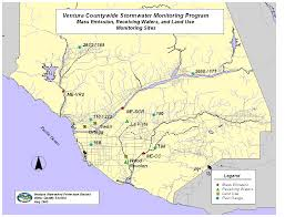 Simi Valley Map Ventura County Stormwater Management