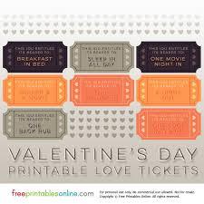 valentine raffle tickets 2017 printable valentine u0027s day love tickets free printables online