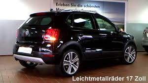 polo volkswagen black volkswagen polo cross 1 2 tsi 2011 deep black perleffekt bu008023