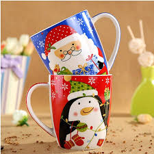 blue coffee mug aliexpresscom buy top grade ceramic christmas mugs