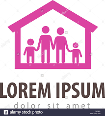 family vector logo design template house or home icon stock