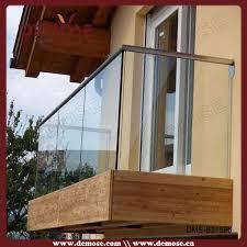 balcon glass balcony railing for interior decoration buy