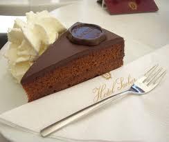 sacher torte in the café sacher vienna coffee cake u0026 culture