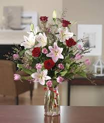 roses and lilies and garden at from you flowers