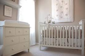 Madison Pottery Barn Crib Beautiful Taupe And White Baby Nursery With A Pottery Barn