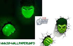 Avengers Wall Lights 3d Wall Art Nightlight Spiderman Face Home Decor Ideas
