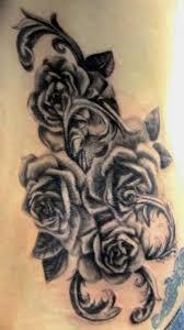 tattoo art wonderful black rose tattoo