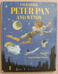 peter pan and wendy by jm barrie u2013 illustrated by anne grahame