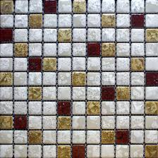 Kitchen Backsplash Mosaic Tile Designs Porcelain Tile Snowflake Style Mosaic Art Design