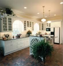 Beautiful Kitchen Lighting Beautiful Kitchen Lighting With Smart Lights And Brown Floor