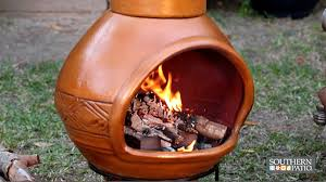 Chiminea Vs Fire Pit by Using A Fire Bowl Or Chiminea In Your Outdoor Space Today U0027s
