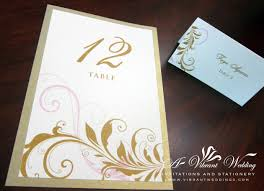 Scroll Invitation Cards Table Cards U2013 A Vibrant Wedding