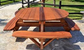 Ep Henry Devonstone by Fancy Picnic Tables Ana White Fancy X Picnic Table Diy Projects