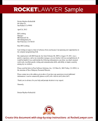 employee reference letter request template rocket lawyer