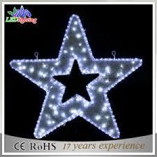 china star shape led christmas lights star christmas motif