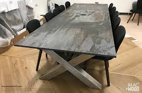 Wooden Boardroom Table Stylish Meeting Room Tables Boardroom Tables Copper Zinc